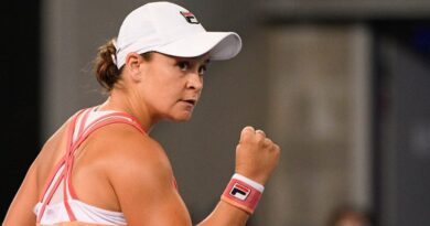 Ashleigh Barty 'happy with progression