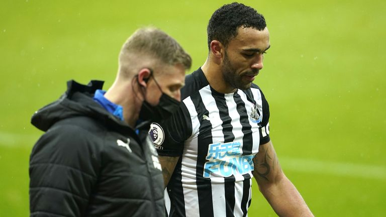Callum Wilson: Injured Newcastle United striker out for six to eight weeks