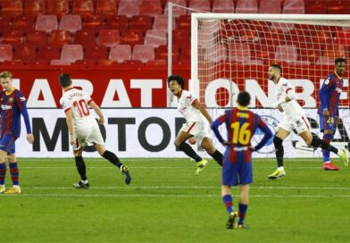 Rakitic struck against his old side as Barcelona lost
