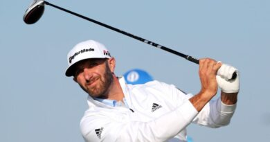 Saudi International: World number one Dustin Johnson takes two shot lead into final day
