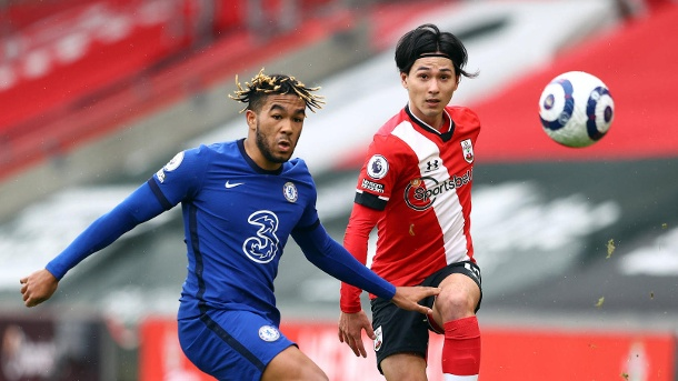 Southampton draw against Chelsea as they end losing run