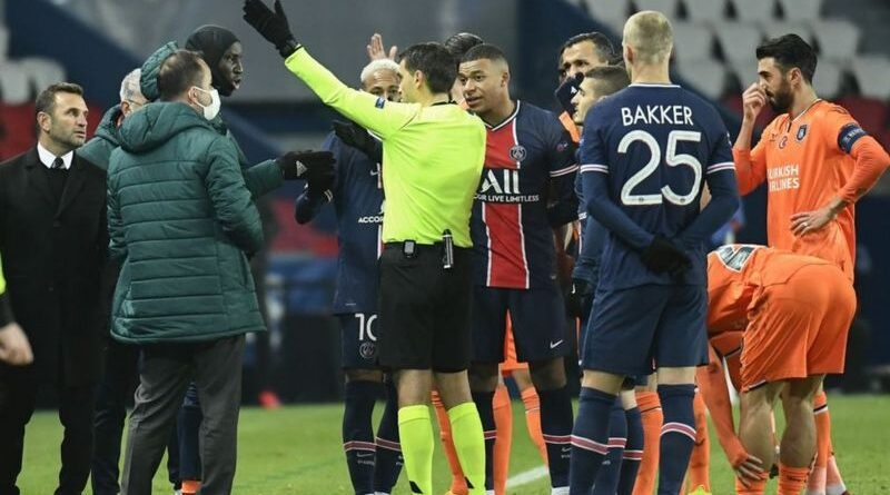 Uefa has opened disciplinary proceedings against two Romanian match officials following allegations of racism during December's Champions League group game between Paris St-Germain and Istanbul Basaksehir.