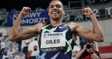 World Indoor Tour: Elliot Giles claims British record with second-fastest indoor 800m in history