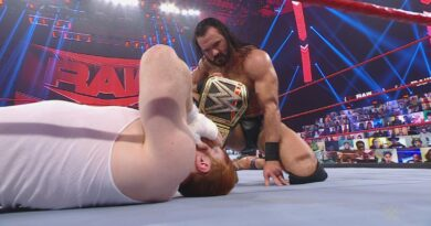 sheamus on the floor