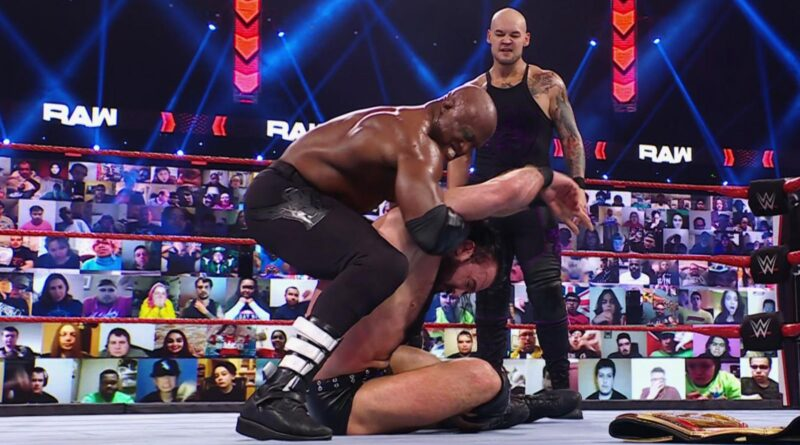 Bobby Lashley lays waste to The Scottish Warrior en route to WrestleMania