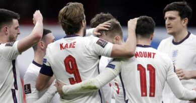 England maintained their winning start to the 2022 World Cup qualifying campaign with a comfortable victory over Albania in Tirana.