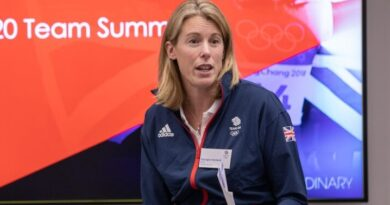 Georgina Harland: From athlete to administrator to Team GB chef de mission