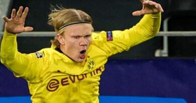 Haaland scored his 19th and 20th goals in 14 Champions League appearances as Borussia Dortmund drew 2-2 with Sevilla