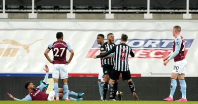 Lascelles scored in stoppage time to rescue a point for relegation-threatened Newcastle