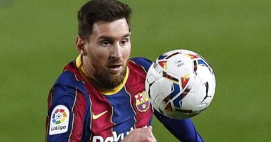 Messi scored twice and made another on the day he equalled Xavi's record