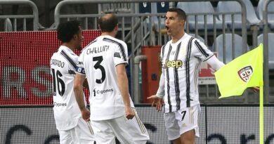 Ronaldo scored a hat-trick inside the opening 32 minutes as Juventus beat Cagliari