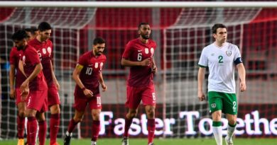 The Republic of Ireland were held to a 1-1 friendly draw with Qatar in Debrecen.