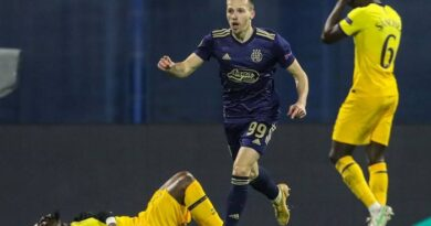 Tottenham were knocked out of the Europa League as a sublime hat-trick from Mislav Orsic completed a remarkable second-leg turnaround for Dinamo Zagreb.