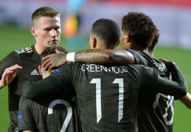 Manchester United took a big step towards the Europa League semi-finals with an away win over Granada in the first leg of their last-eight tie.
