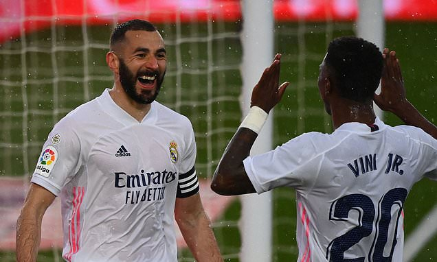 Benzema continued his rich scoring form as Real Madrid beat Eibar
