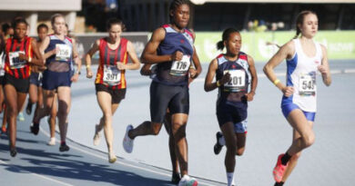 Caster Semenya wins 5,000m title in South African Athletics Championships