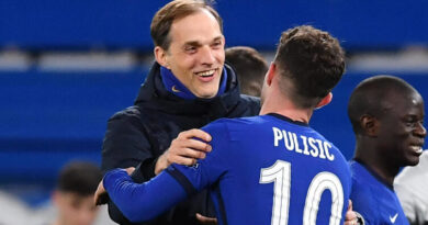 """Manchester City are the """"benchmark"""" across Europe but Chelsea """"will hunt them"""" next season, says the London club's manager Thomas Tuchel."""