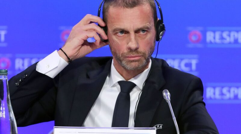 European Super League a 'spit in the face of all football lovers', says Uefa president Aleksander Ceferin