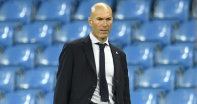 'I don't think I'm a disaster of a coach' - Zidane quizzed on Real Madrid future