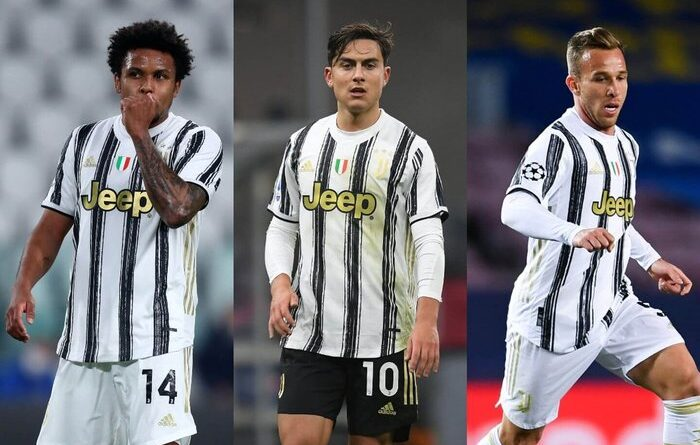 Paulo Dybala, Weston McKennie and Arthur dropped by Juventus for Covid breach