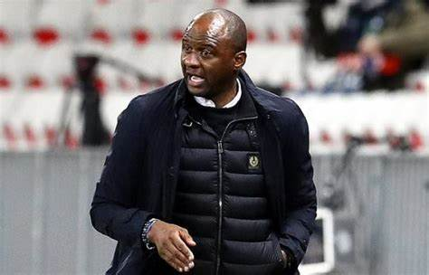 Vieira is on the list of managers being considered by Crystal Palace if 73-year-old Roy Hodgson