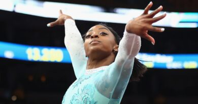 Simone Biles: US gymnast hints she may continue until Paris 2024 Olympics