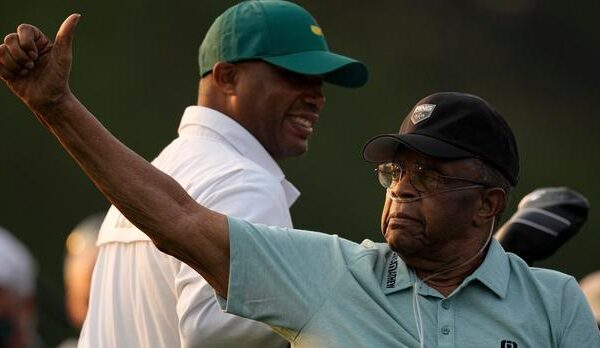 Lee Elder: First black golfer to compete in the Masters returns for honorary start