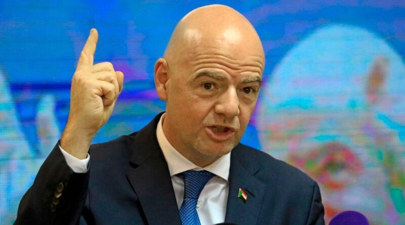 """Fifa boss Gianni Infantino """"strongly disapproves"""" of the breakaway European Super League and says the 12 clubs will have to """"live with the consequences"""" of their decision to join."""