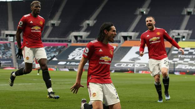 Manchester United inflicted further damage on Tottenham's hopes of making the Premier League's top four as they came from behind to secure a fully deserved victory.