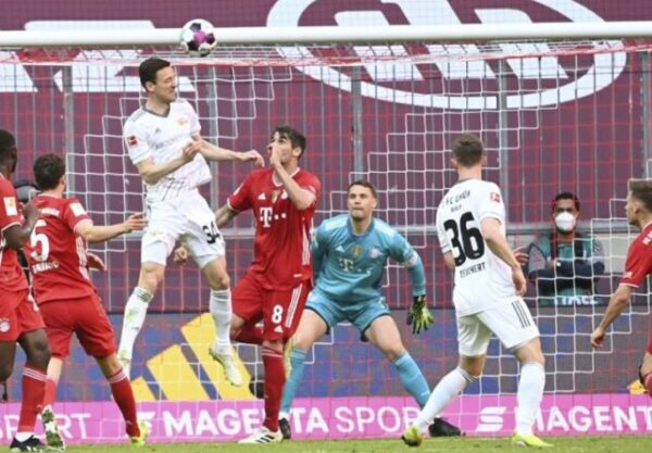 Bayern Munich's Bundesliga lead was cut to five points as Marcus Ingvartsen's late goal earned Union Berlin a draw at the home of the reigning champions.