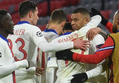 Kylian Mbappe scored twice as Paris St-Germain produced a superb away performance to beat title holders Bayern Munich in a thrilling Champions League quarter-final first leg.