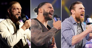 Intensity reaches fever pitch for Edge, Reigns and Bryan heading into WrestleMania