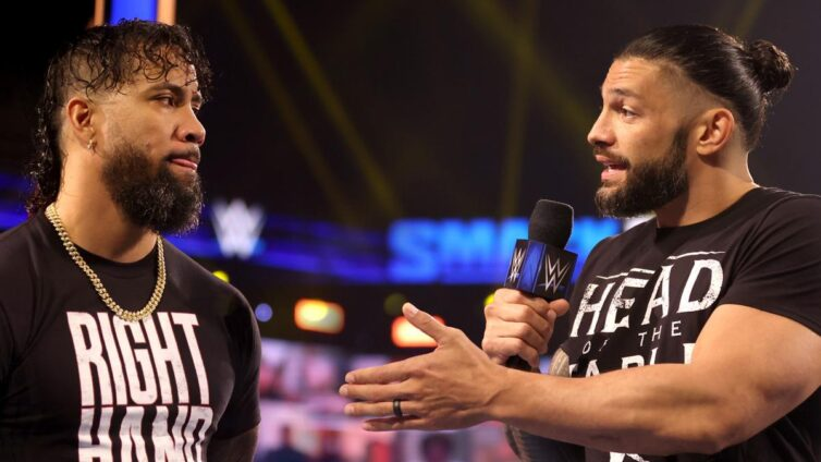 Roman Reigns pushes Jimmy Uso to challenge Cesaro