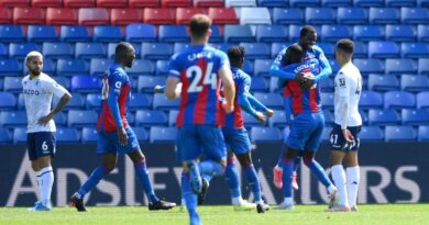 Zaha scored his 11th goal of the season to help Palace to victory