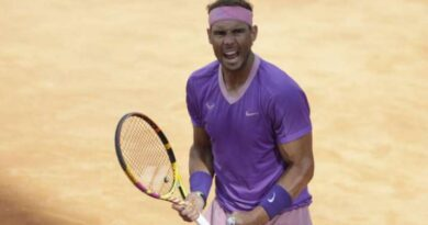 Rafael Nadal secured his place in the Italian Open final with a 6-4 6-4 win over American Reilly Opelka.