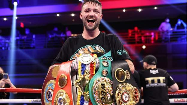 Josh Taylor delivered a titanic performance to become Britain's first undisputed world champion in the four-belt era after defeating Jose Ramirez by unanimous decision in an enthralling light-welterweight unification bout.