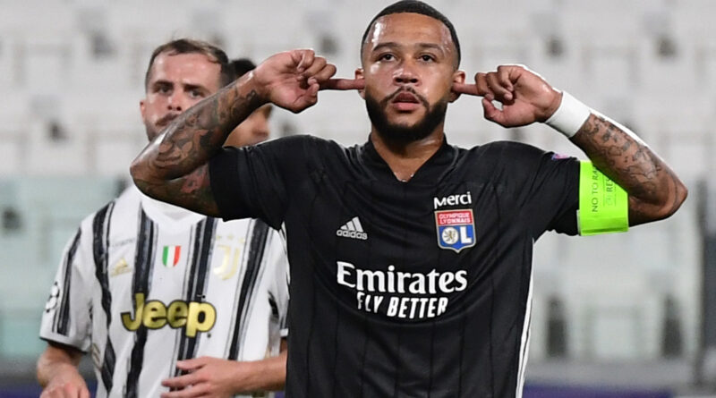 The Dutch forward's contract at Lyon is winding down and he will manage his own negotiations