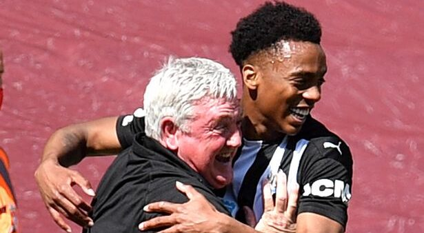 Willock has caused a sensation on Tyneside since joining the Magpies at the start of the year