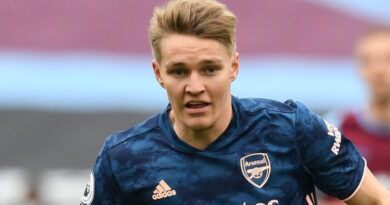 """Martin Odegaard has revealed that he is """"happy"""" at Arsenal, but accepts that Real Madrid will make the final call about his future."""