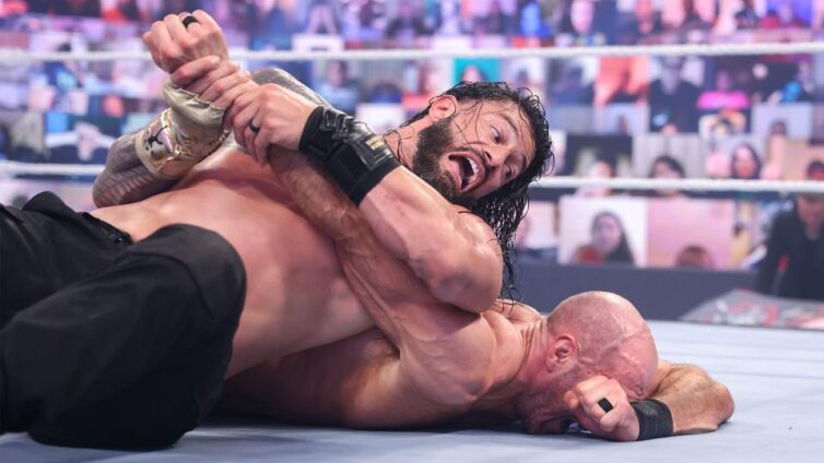 Reigns hard-fought victory over Cesaro