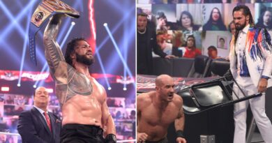 Reigns hard-fought victory over Cesaro at WrestleMania Backlash ushed in a brutal assault by Rollins