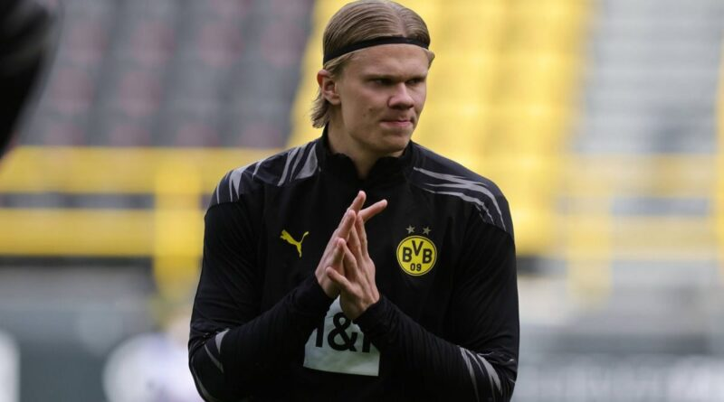 The Algerian international was quick to joke on social media while on holiday with the Dortmund star