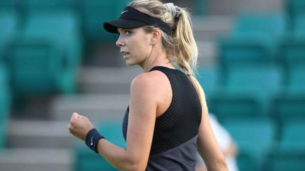 Katie Boulter's career has been interrupted by a back injury sustained two years ago