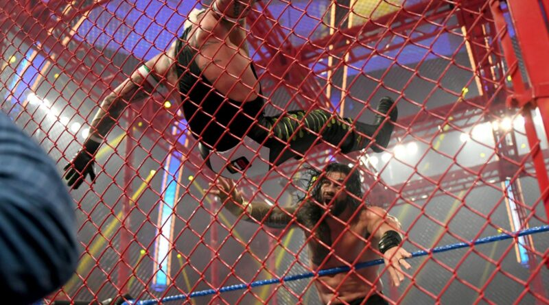 In SmackDown's first-ever Universal Championship Hell in a Cell Match, The Head of the Table survived the hard-fought challenge from The Master of the 619.
