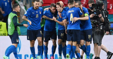 Roberto Mancini's side broke a record that has stood for 82 years as they moved into the European Championship quarter-finals