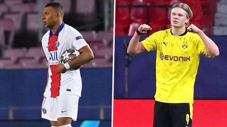 The Frenchman says he is happy to see the BVB striker doing well, but also points out that he is only two years into his career at an elite level