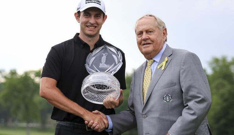 Memorial Tournament: Patrick Cantlay wins after play-off with Collin Morikawa