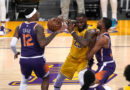 NBA play-off round-up Reigning NBA champions the Los Angeles Lakers lose in play-offs
