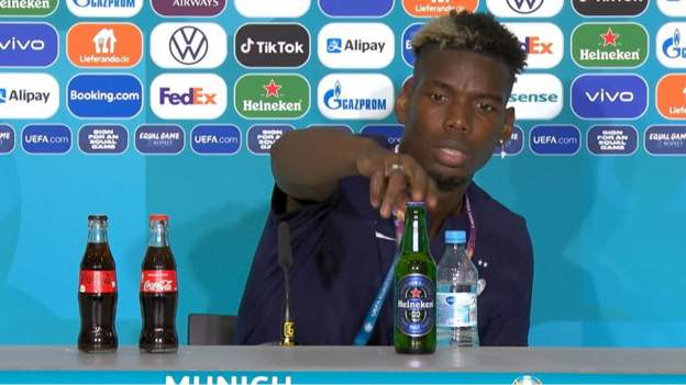 First it was Cristiano Ronaldo and now it's Paul Pogba.