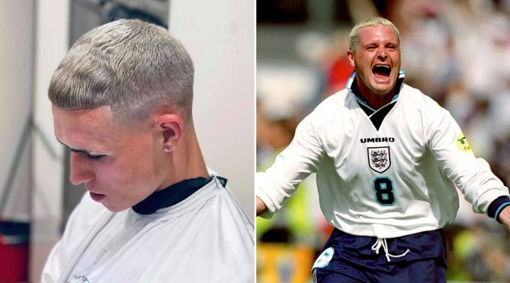 The Manchester City star is hoping to have a similar impact to that of Gascoigne at World Cup Italia 90 and Euro 96